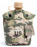 Фляга армейская с котелком US Army Bottle 10794